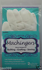 Machingers Gloves Designed for Quilting, Crafting, Sewing by Quilters Touch