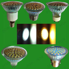 4x 5.6W Epistar 60 SMD LED Spot Light Bulbs Cool Daylight or Warm White Lamps