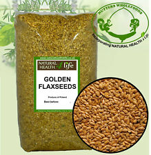 Golden Flaxseeds / Linseeds 500g or 900g (Flax Seeds / Lin Seeds)