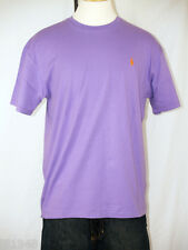 Polo Ralph Lauren Purple T-Shirt Orange Polo Pony  S M L XL XXL NWT
