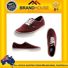 VANS UNISEX AUTHENTIC SUEDE LEATHER SHOES/SNEAKERS/CASUAL/SKATE/EBAY AUSTRALIA