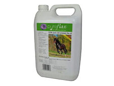 PUREFLAX PURE FLAXSEED OIL FOR HORSES hoof coat joint supplement linseed