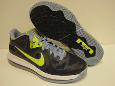 NEW Mens NIKE Lebron 9 Low 510811 401 Obsidian Blue Cyber Green Sneakers Shoes