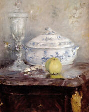 Art Print - Tureen And Apple - Morisot Berthe 1841 1895