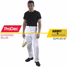 Prodec Painters Trousers Pants Cotton Drill Decorating Decorate Work Elasticated