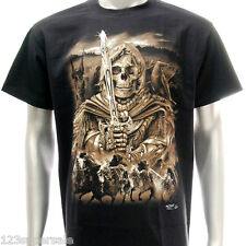 sc58 M L XL XXL 3XL Survivor Chang T-shirt Tattoo Glow in Dark Grim Dead Skull