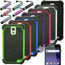 Dual Layer Hybrid Hard Case Cover for Samsung Galaxy S2 I727 Skyrocket AT&T