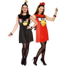 Sassy Angry Bird Costume Adult Angry Birds Video Game Halloween Fancy Dress