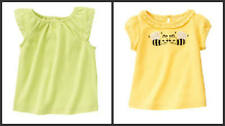 NWT, Infant Girls Gymboree Tops, Size 3-6M Bee Chic, Greek Isle
