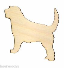 Otterhound Dog Unfinished Flat Wooden Shapes Cut Outs OH5640 Variety Szs Crafts