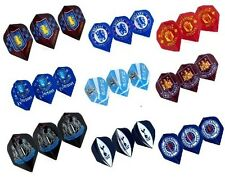 OFFICIAL FOOTBALL CLUB - DART FLIGHTS - [10+ Teams] (FREE UK P&P)