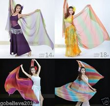 Brand New Multi-color Dance Performance Veil Shawl Scarf 18 Colors Available