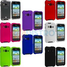 Color Hard Snap-On Skin Case Cover for Samsung Galaxy Rugby Pro I547 Phone