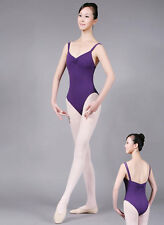 New Adult Ladies Ballet Camisole Leotards Gymnastics Dance Dress SZ S/M/L/XL/XXL
