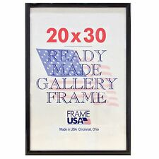 20x30 Deluxe Poster Frame Pack of 3 Frames - Black, Silver or Gold
