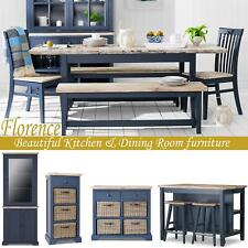 FLORENCE round extended dining table and chairs, Stunning kitchen table, QUALITY
