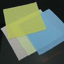 Microfiber Eyeglass Cleaning Cloth Lens LCD LED Screen Cleaners 132x135mm S47S