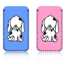 'CUTE SPOTTY DOG' (M) Mobile Phone Pouch Case for SAMSUNG GALAXY PLAYER 3.6 - UK