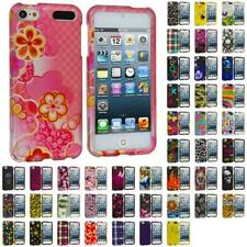 Design Hard Snap-On Rubberized Case Cover Accessory for iPod Touch 5th Gen 5G
