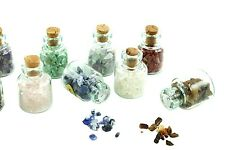 Chakra Energy Bottles in Natural Stones for the Body, Mind, and Spirit