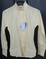 NWT PALE HORSE DESIGNS $90 Coolmax Girls French Vanilla Long Sleeve Show Shirt