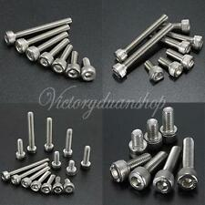 10pcs A2 (304) Stainless Steel Bolts Socket Head Cap Screws Fastener Repair tool