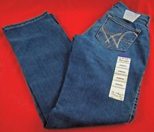 Womens Wrangler Q-BABY WRQ25BR Mid Rise Boot Cut Stretch Jeans Choose Size