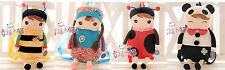 NWT Fun Cute Kids Plush Cartoon Toy Doll Preschool Mini Backpack Creative Design