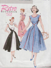 Pattern Vintage style WRAP DRESS 8-14 or 16-22 retro NEW b4790 misses sewing