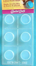 Door knob drawer pull resin crafts mold crafting mould reusable plastic
