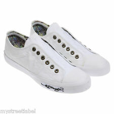 Tennis blanches en toile Ed Hardy Ed Hardy taille 41-47.5