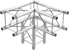 "GLOBAL TRUSS 8.5"" SQUARE TRUSS 3 WAY 90° CORNER OR T-JUNCTION F24 SERIES BOX"
