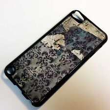 Cover for iPod Touch 5 5th Gen 5G Wallpaper Floral Pattern Vintage Case =5037