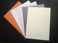 50 x A4 Pearlescent Luxury Shimmer Centura Pearl Card 260gsm ~ Double Sided