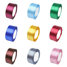 """25 Yards 1.5"""" 38mm Multicolor Satin Ribbon Craft Bow Wedding Party Supply HJ353"""