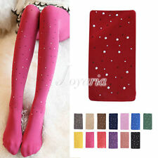 Women's Opaque Bling Crystal Rhinestone Pantyhose Tights Stockings Wholesale
