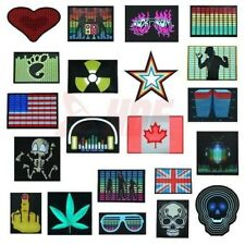 HDE Sound Activated Rave Dance Club Party LED Light Panel w/ Sensor Module EQ
