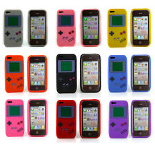 Flexible Silicone Gameboy Case Cover For Apple iPhone 5 5S