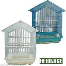 HERITAGE CAGES ALBANY BUDGIE FINCH BIRD CAGE 34x28x49CM BUDGIES CANARY HOME PET