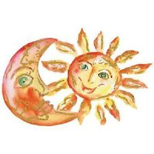 Sun & Moon  Watercolor with Glitter  Tshirt  Sizes/Colors