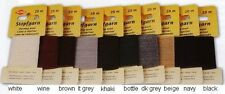 Mending Darning Wool Yarn Thread 20 Metres Choice of Colours
