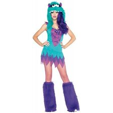 Monster Costumes for Women Adult Funny & Furry Halloween Fancy Dress