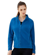 Womens Fruit of the Loom Lady-Fit Full Zip Fleece, 5 Jacket Colours