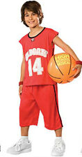 Deluxe Troy Bolton Red Basketball Costume 4-6 8-10 10-12 12-14 NWT