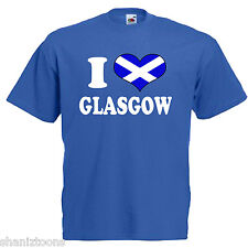 I Love Heart Glasgow Scotland Children's Kids T Shirt