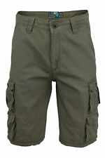 Mens Cargo Shorts by Dissident Cotton Twill