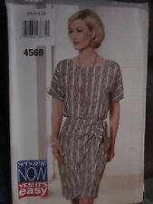 4569 Vintage Butterick SEWING Pattern Misses EZ Top Skirt XS-XL UNCUT SEE & SEW