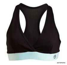 Zumba Galaxy V-Bra Top - Black