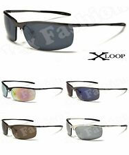 X-Loop Metal Sport Designer Sunglasses Men