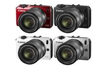 Canon EOS-M Digital Camera w/ EF-M 18-55mm Lens (Black, Red, Silver, White)